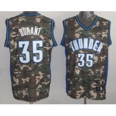 NBA Oklahoma City Thunder 35 Kevin Durant Camo Jersey