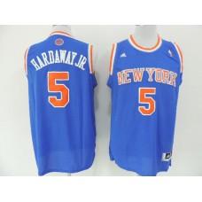 NBA New York Knicks 5 Hardway Jr Blue 2014 Jerseys