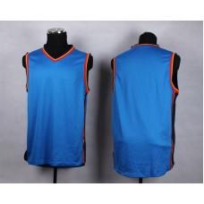 NBA Oklahoma City Thunder Blank blue New Jersey