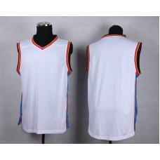NBA Oklahoma City Thunder Blank white New Jersey